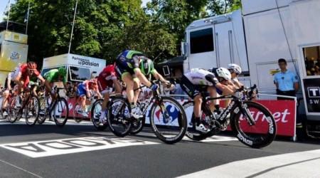 Šprint v Montaubane pre Cavendisha, Sagan šiesty