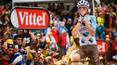 Pod Mont Blancom prvý Bardet, Froome na požičanom bicykli