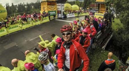 Svetová cyklistika na Štrbskom Plese - 5. Etapa Tour de Pologne