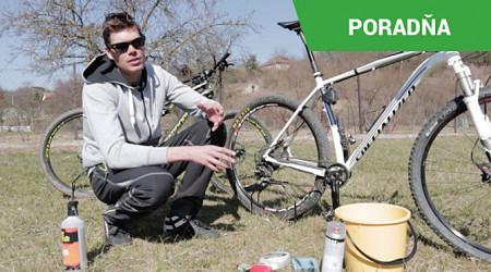 Video: Rýchla a jednoduchá očista bicykla po výjazde