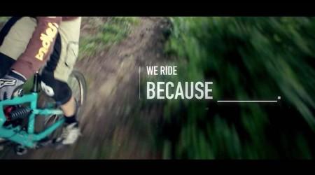 We ride, because...
