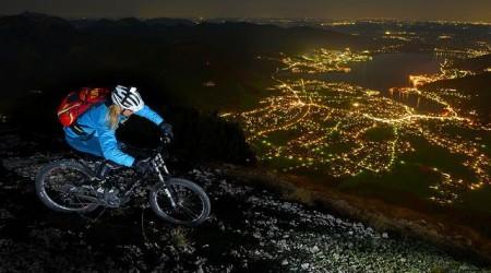 Night ride on Wallberg
