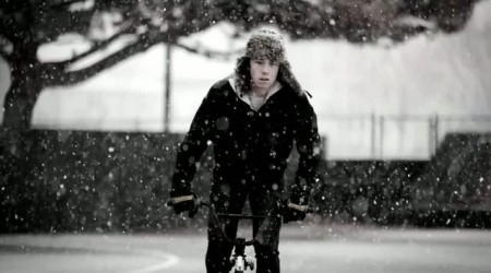 Filming Myself in the Snow
