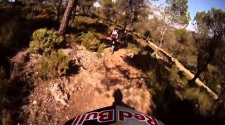 Downhill ride with Filip Polc & Cedric Gracia