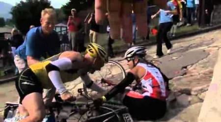Brutálne stúpanie na Savageman Triathlon 2012
