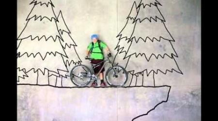 Binary Bike Stop Motion Video