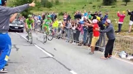 Wheelie na Alpe d'Huez