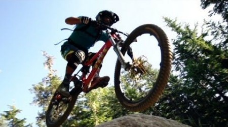 Richie Schley Earns his Mountain Bike Descent