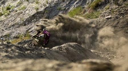 Downhill Mountain Biker Beasts Les Deux Alpes