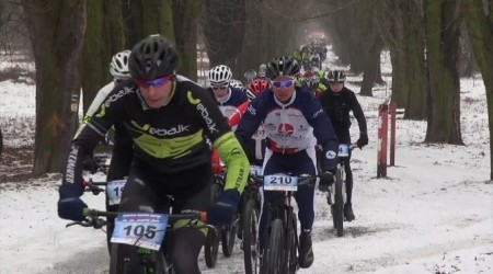 Video: Stupava Winter Trophy MTB & Run 2017 - obrazom