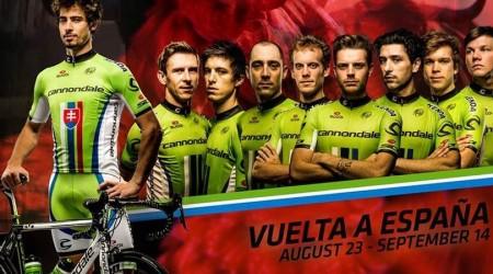 Saganovo Cannondale na Vuelte druhé v tímovej časovke