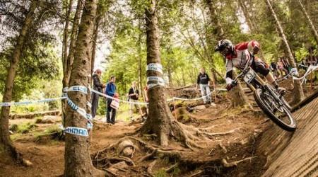 Tretí pretek zo série UCI Downhill World Cup v Škótsku
