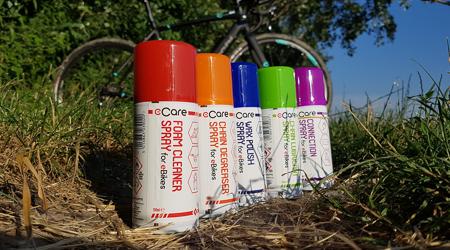 Test: eCare - Starostlivosť o elektrobicykel a špecifické prípravky na jeho údržbu