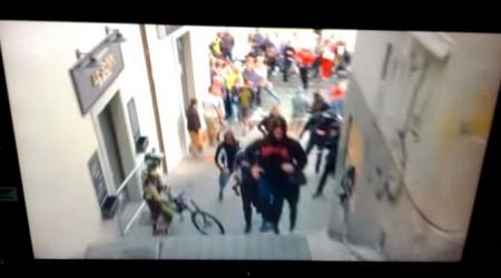 Záznam priameho prenosu RTVS: A tu máme problém... vrátane napadnutia kameramana