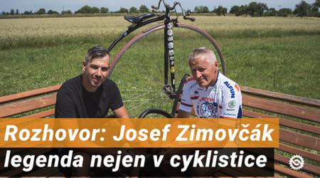 Video: Josef Zimovčák - legenda nejen v cyklistice