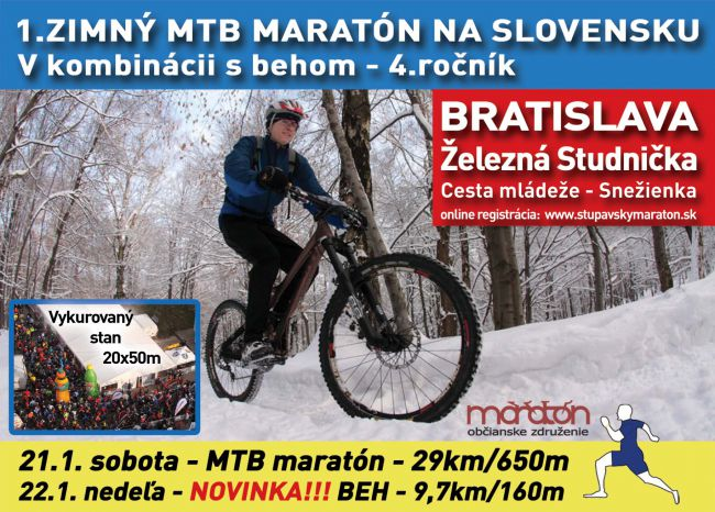 1. Zimný MTB Maratón - novinky