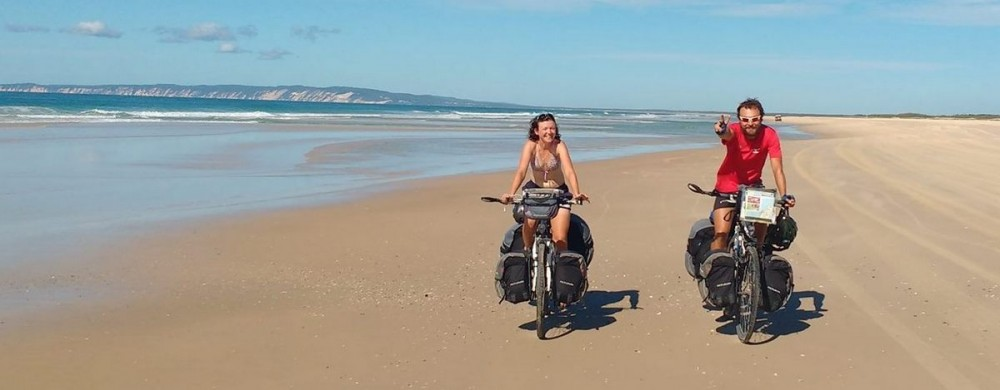Keď cestovať, tak na bicykli