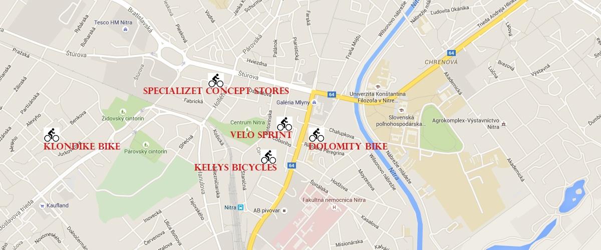 Prehľad ponuky bicyklov a odborného servisu v Nitre
