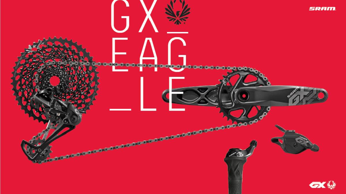 Nová sada SRAM GX Eagle – nekompromisný rozsah s dostupnou cenou