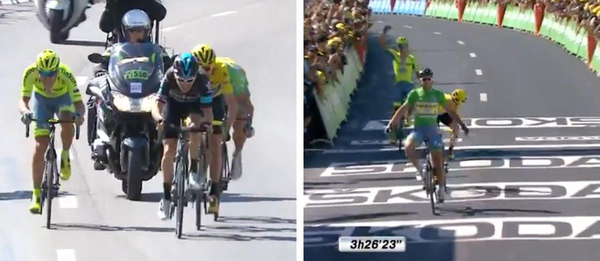 """Triumf Sagana pred Froomom: """"Šialené, čo sa stalo"""""""