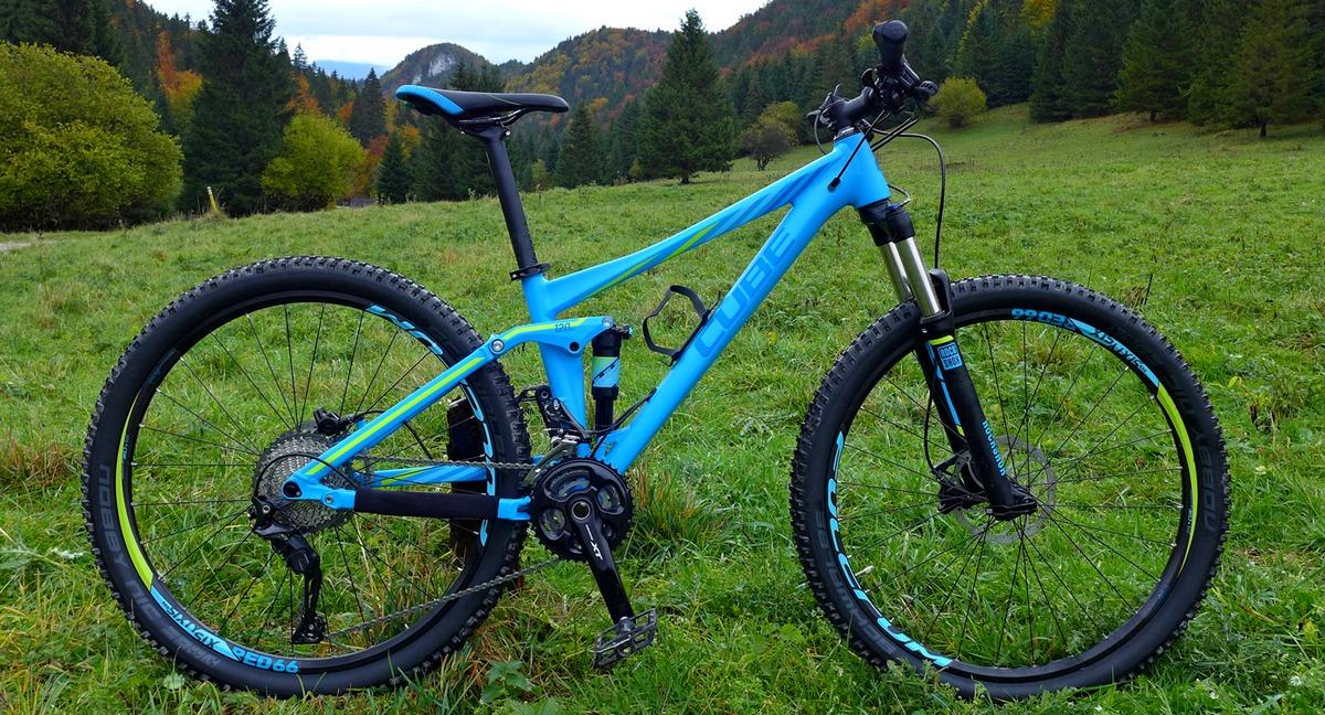 Test: CUBE STING 120 PRO WLS  - výborný trail bike vhodný na celodenné výjazdy po lesných singletrailoch