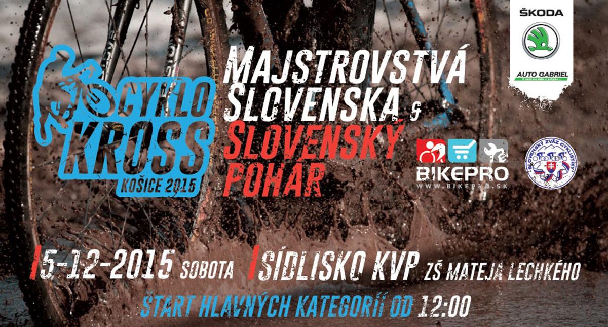 Cyklokrosárov čakajú Majstrovstvá Slovenska