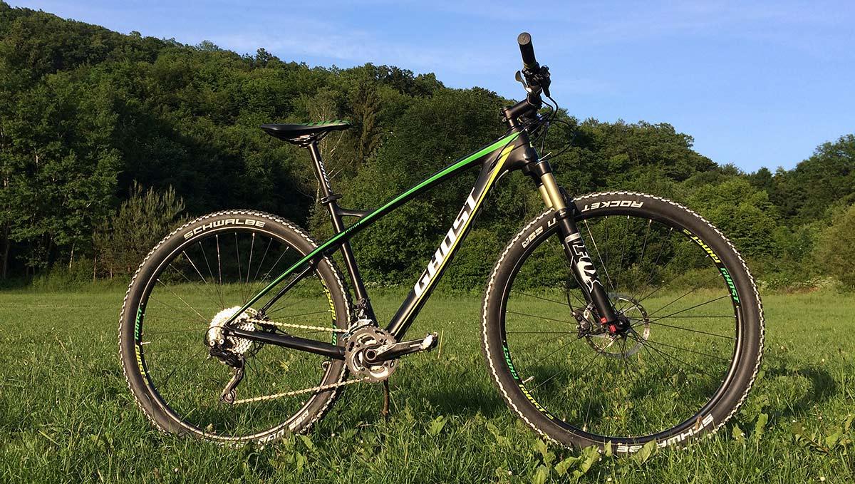 Test: Bike GHOST HTX 5 LC - Rýchle, spoľahlivé HT-čko