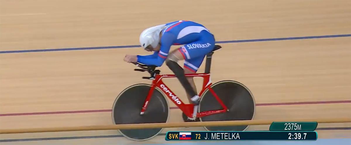 Jozef Metelka predviedol absolútne famózny výkon na velodróme v Riu de Janeiro a vybojoval zlato