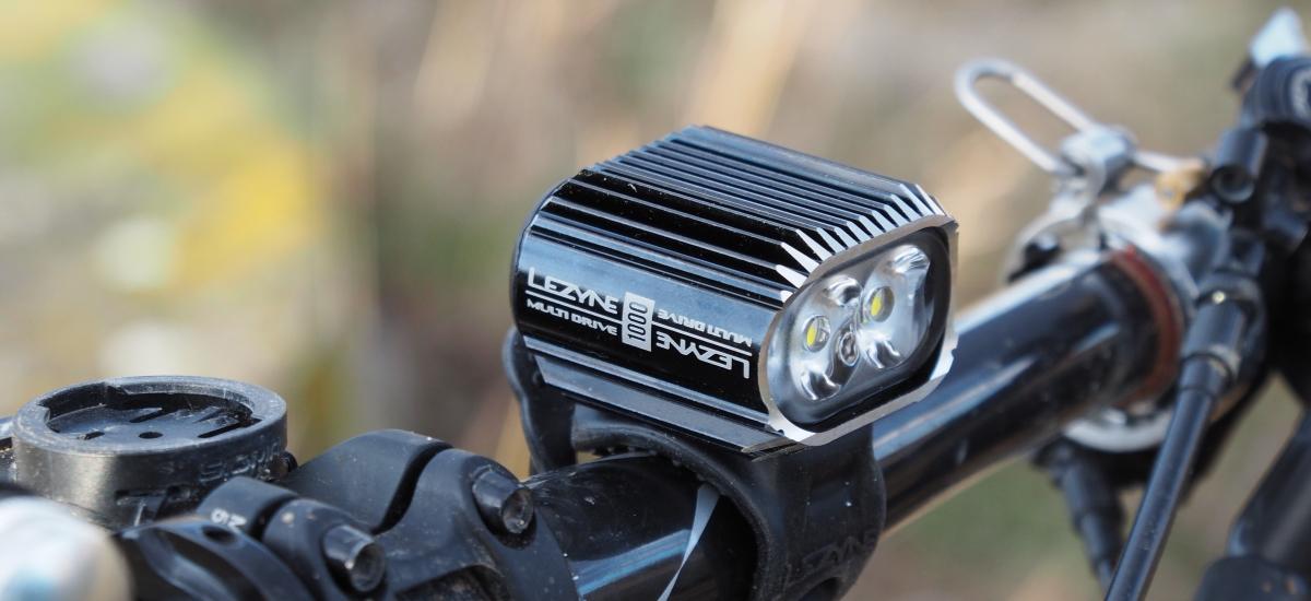 Test: Lezyne Multi Drive 1000 lm - výkonné svetlo so širokým využitím