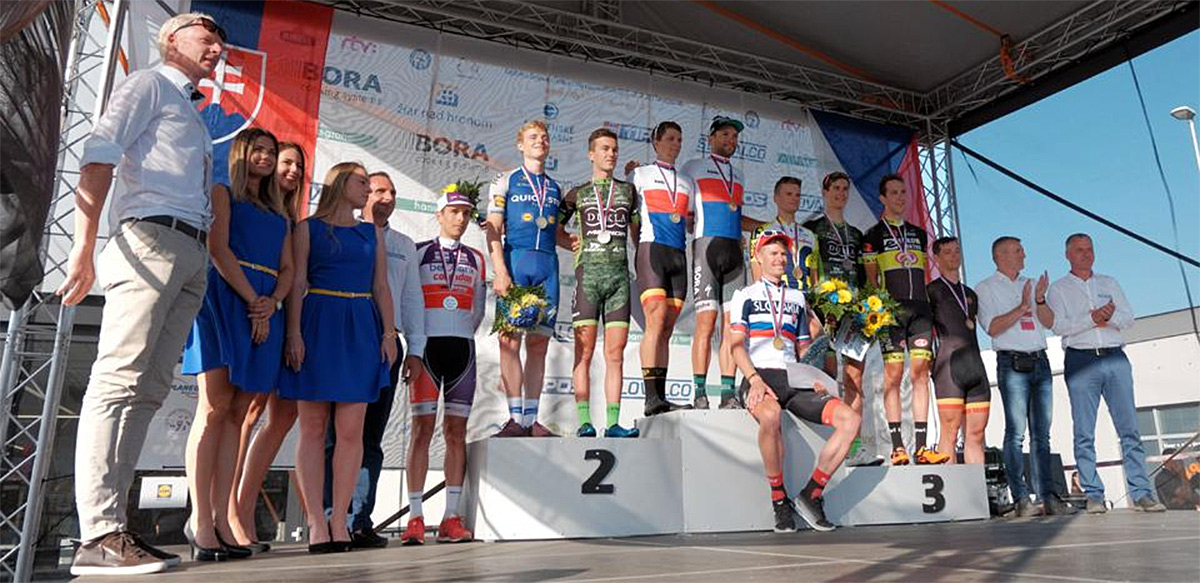 Marek Čanecký z tímu Amplatz-BMC obhájil titul majstra Slovenska v časovke