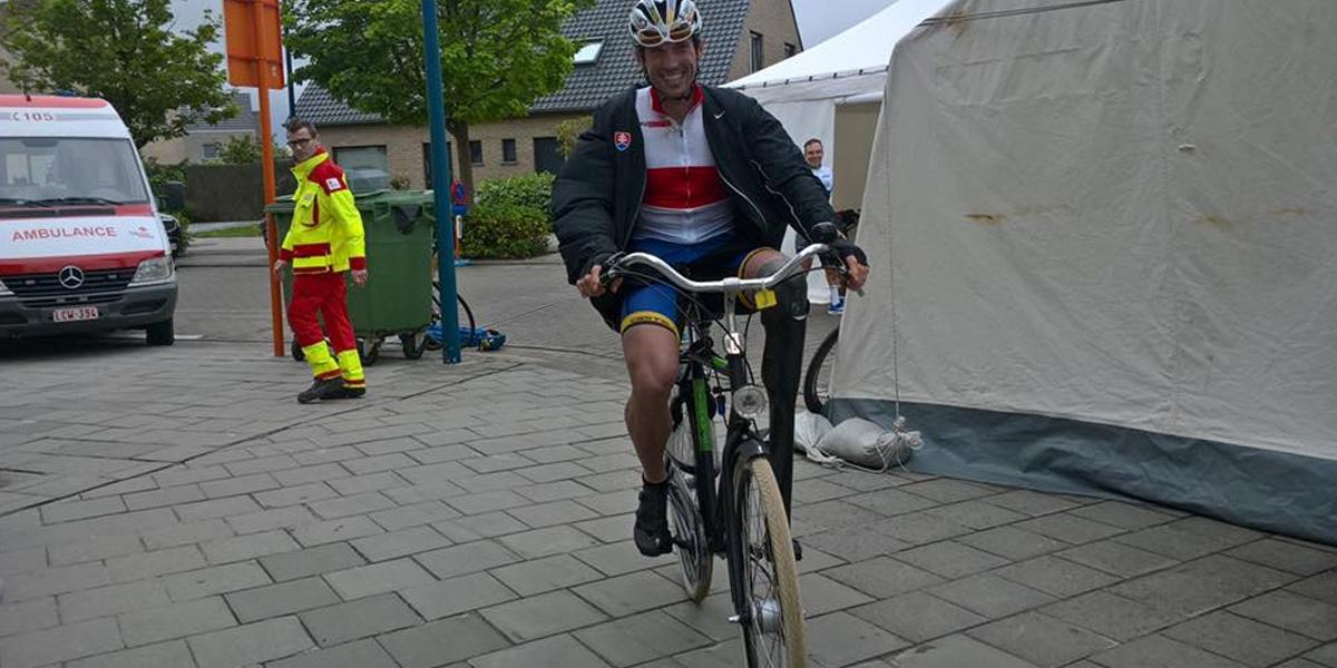 Úspešný slovenský paralympionik Jozef Metelka dvakrát víťazne v Oostende