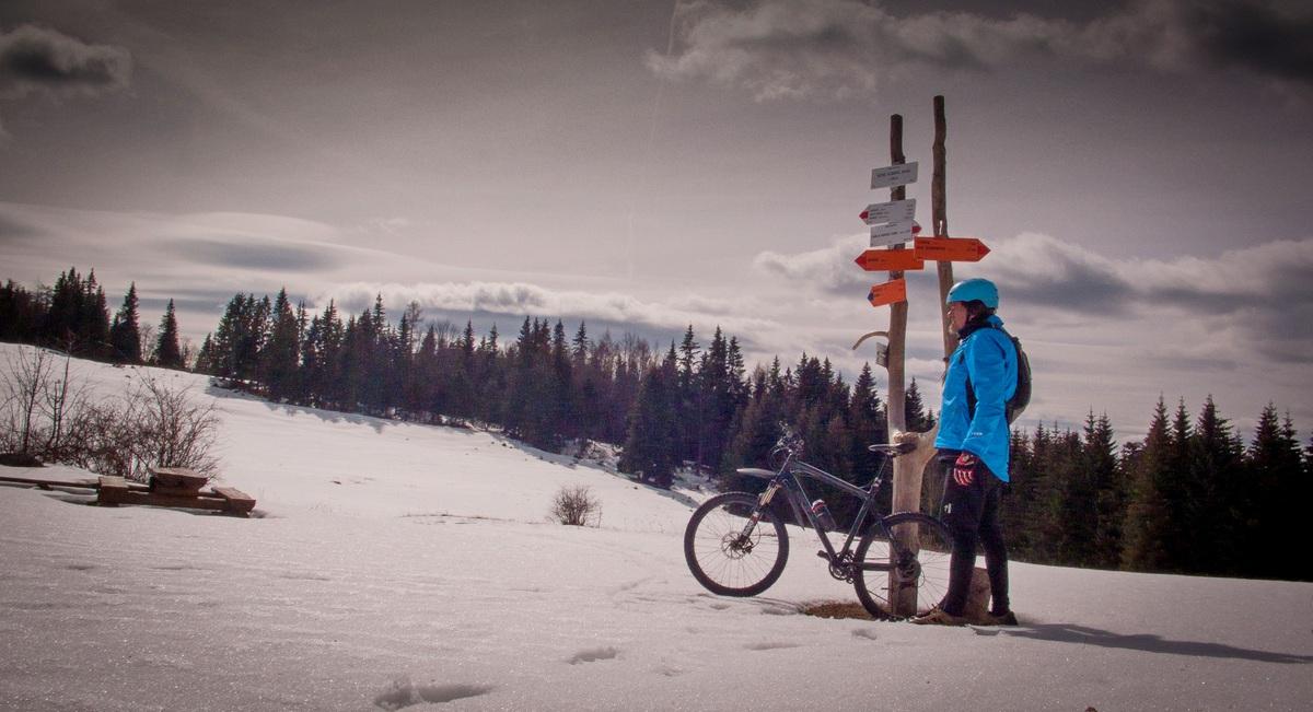 Tip na výlet: Zimný sólo prejazd centrálnej časti Muránskej planiny