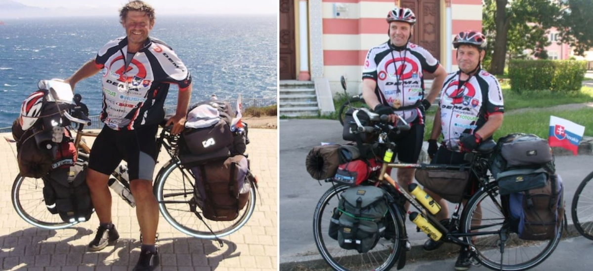 Spomienka na Petra Patscha – cyklista a cestovateľ