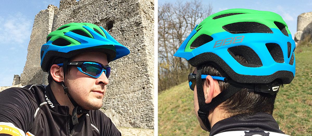 Test: BBB prilba Varallo a okuliare Adapt - aby sa jazdilo bezpečne a pohodlne