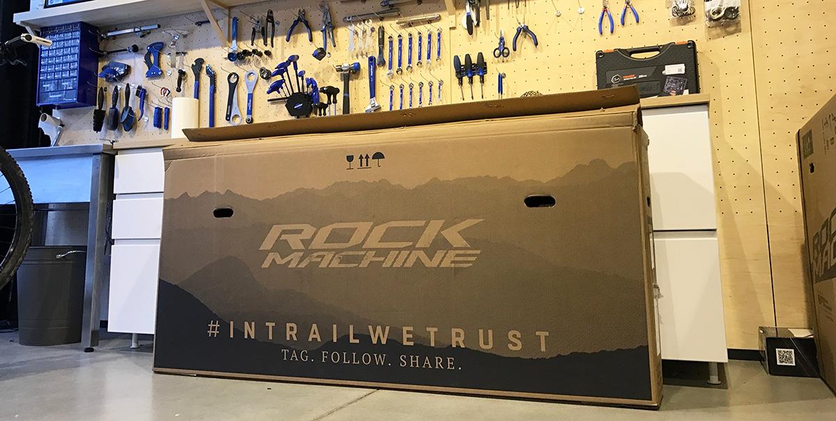 Unboxing: Rock Machine Explosion 70 - belasá raketa s 1x11 a hmotnosťou 10.50 kg