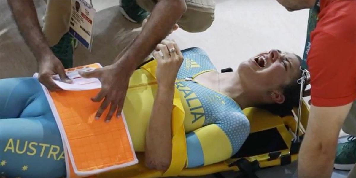 Padá sa aj v dráhovej cyklistke: Hoskinsovú prepustili z nemocnice bez zlomenín