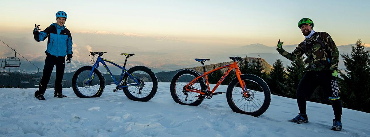 Ako sa jazdí na fatbikoch Rock Machine v bike parku Malinô Brdo?