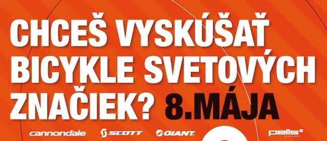 Športservis prináša najväčší testovací deň bicyklov v Bratislave