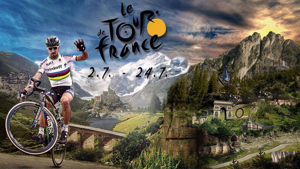 b8c09c48bf128 Mark Cavendish sa stal víťazom sobotňajšej úvodnej etapy na 103. ročníku  cyklistických pretekov Tour de France, Peter Sagan tretí