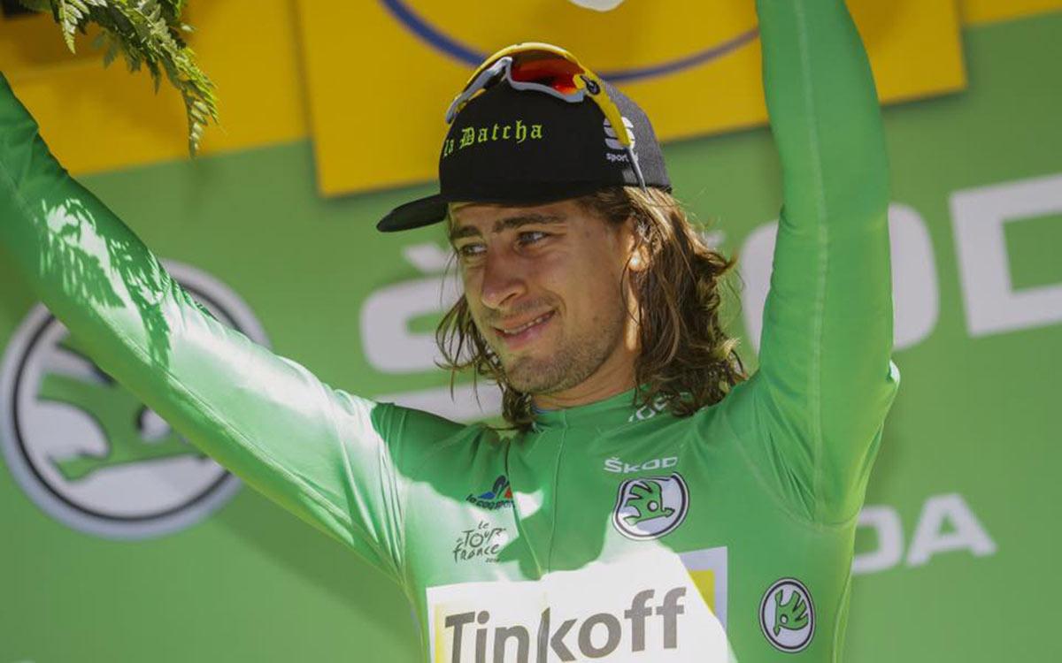 Sagan druhý v 10. etape TdF, ale vyhral ďalšiu prémiu a je späť v zelenom