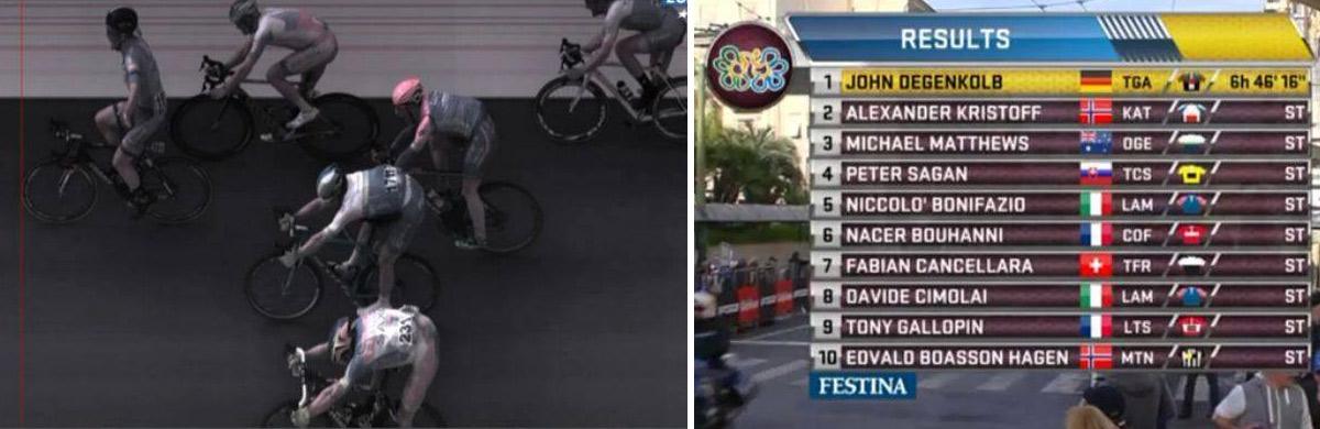 Sagan finišoval na Miláno - San Remo štvrtý