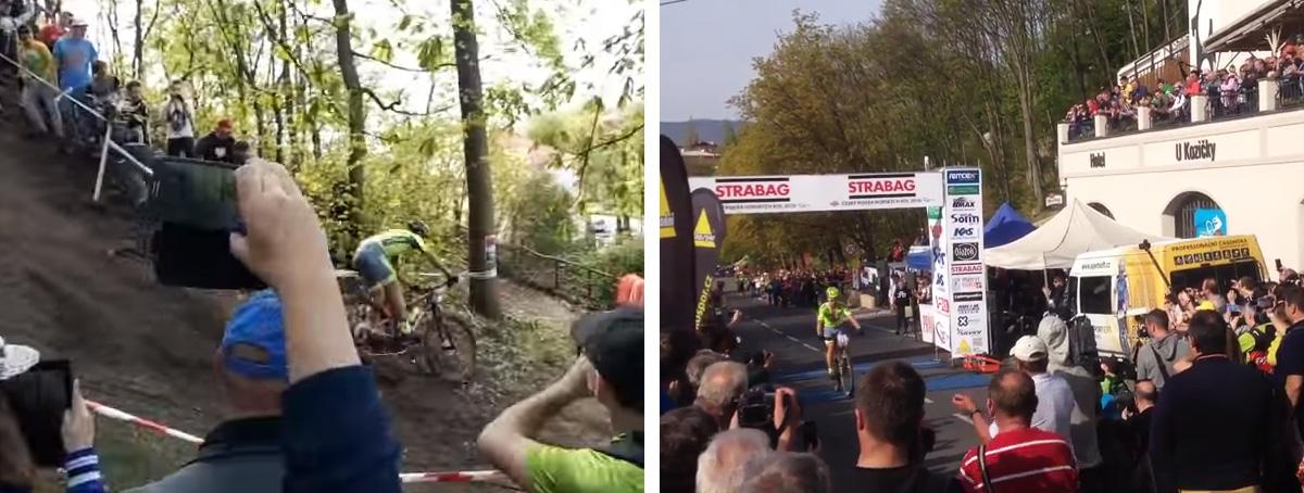 Saganovi vyšiel reparát, v Tepliciach bol štvrtý - pozrite si zábery z trate