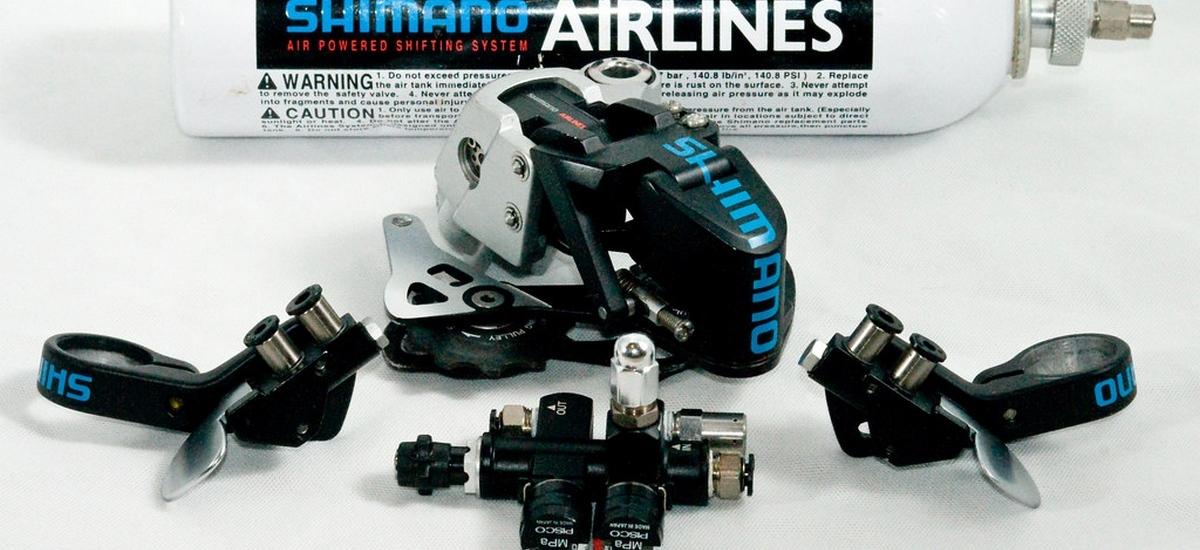 Slepé vetvy v histórii MTB: Shimano Airlines