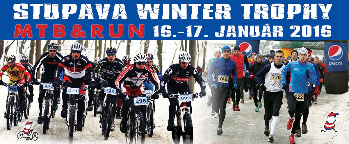Pozvánka: Už o 5 dní sa koná Stupava Winter Trophy MTB & Run 2016