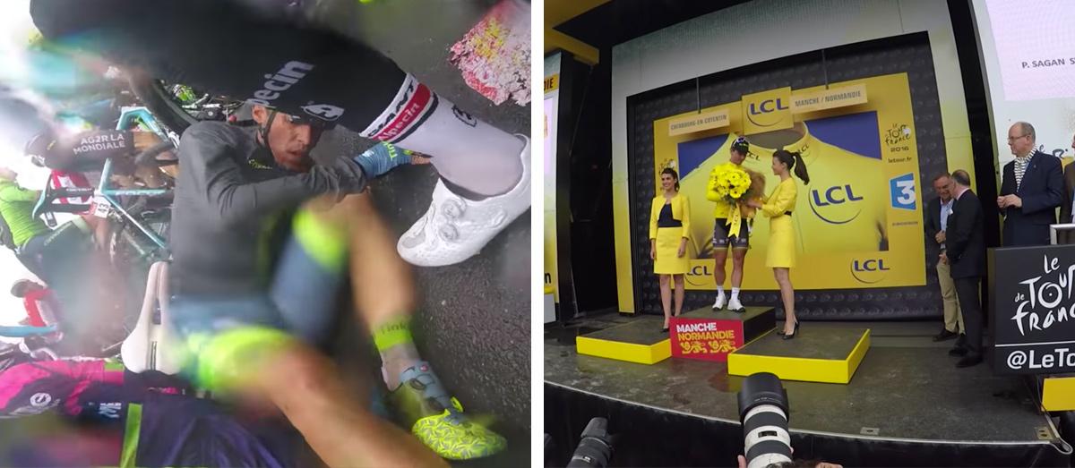 Na TdF tranzitná etapa - historická pre žltého Sagana, ktorý kritizuje nedostatok rešpektu či rozumu