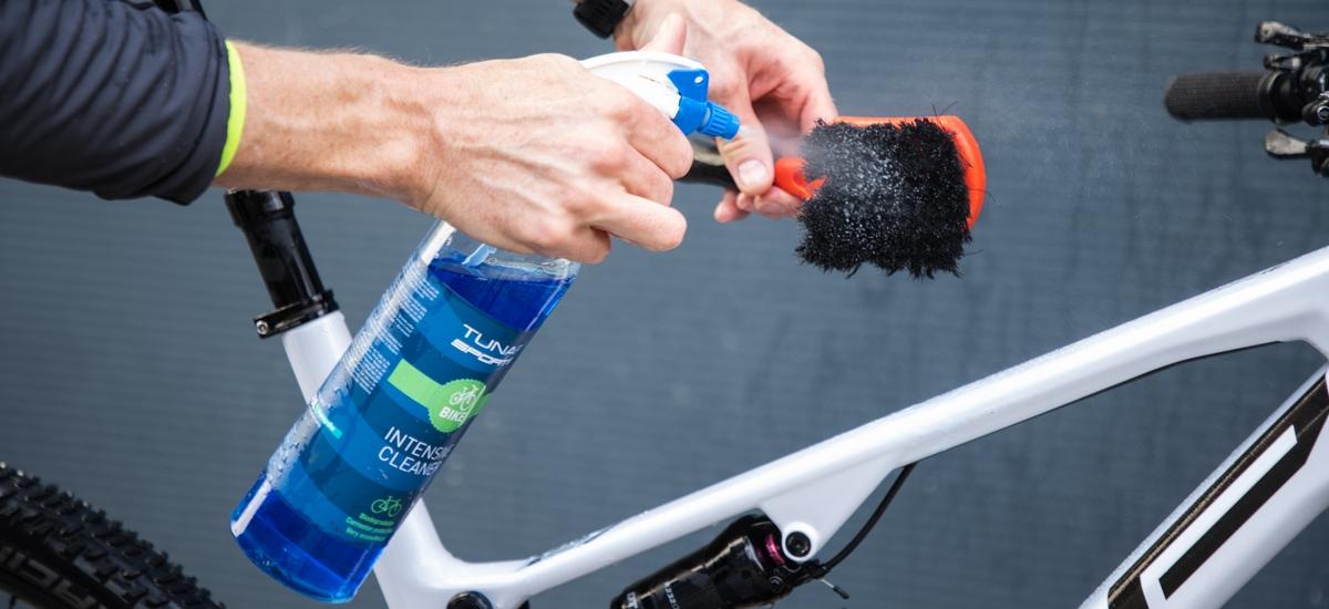Starostlivosť obicykel Tunap - očistiť, namazať avyraziť