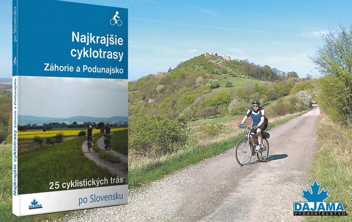 Recenzia: Kniha Najkrajšie cyklotrasy - Záhorie a Podunajsko