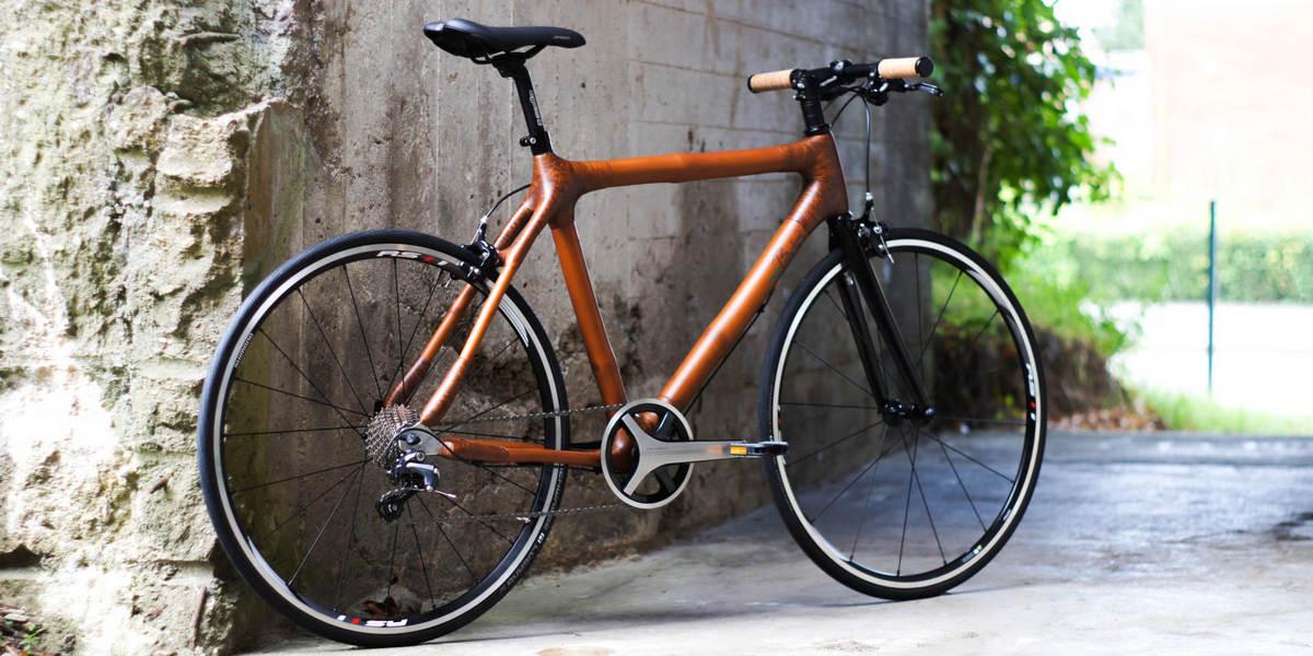 Bambusový bicykel - pomáha ľuďom i prírode