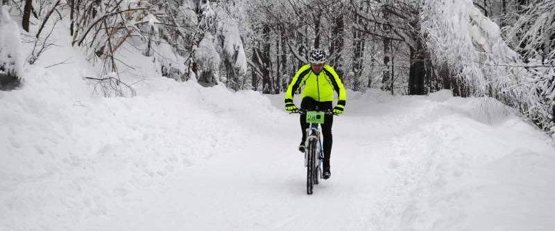 Nádherná zimná bikovačka na Čergovskej stope