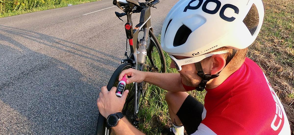 Servisné minimum cestného cyklistu - problémy počas jazdy